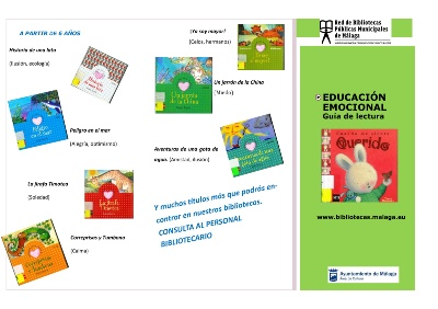 FOLLETO EDUCACION EMOCIONAL
